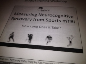 ImPACT Training: Measuring Neurocognitive Recovery from Sports Concussion.